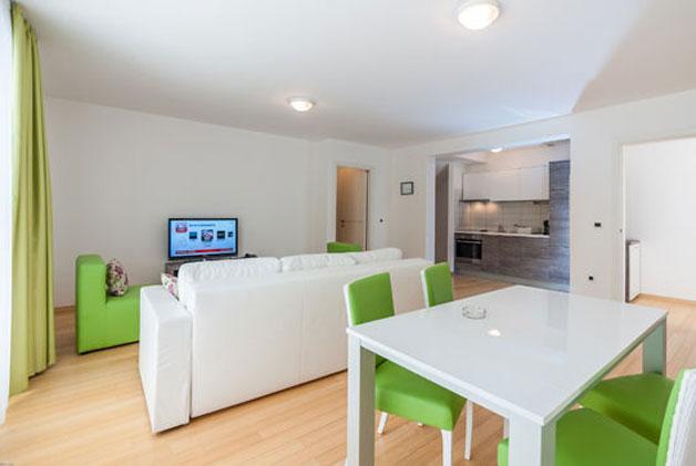 Lux Zelena Rapsodija - Izgled dnevne sobe
